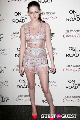 kristen stewart in NY Premiere of ON THE ROAD