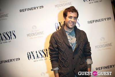 kristian laliberte in Refinery 29 + Onassis Party