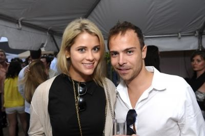 kristin sundberg in Day & Night Beach Club Hamptons Magazine Party