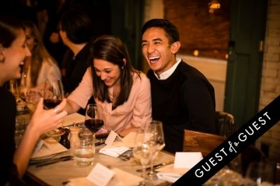 kristin wetzel in Guest of a Guest's Yumi Matsuo Hosts Her Birthday Dinner At Margaux At The Marlton Hotel