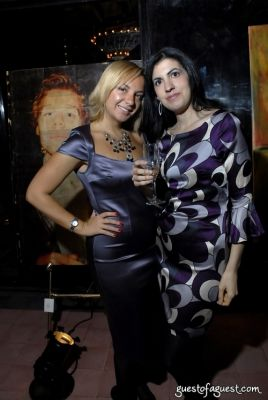 kristina alexandra in ART ROCKS BENEFIT - Bowery Hotel