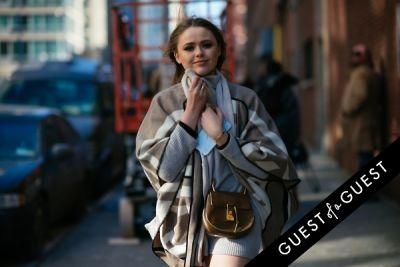 kristina bazan in NYFW Street Style Day 4