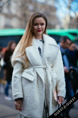 kristina bazan in Paris Fashion Week Pt 1