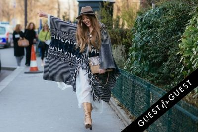 kristina bazan in Paris Fashion Week Pt 5