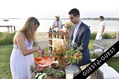 tom strong-grinsell in Cointreau & Guest of A Guest Host A Summer Soiree At The Crows Nest in Montauk