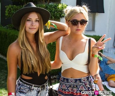 kristina kane in Coachella: GUESS HOTEL Pool Party at the Viceroy, Day 2
