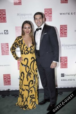 kristina lopez in American Folk Art Museum Gala Cocktail Hour