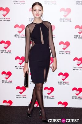kristina romanova in God's Love We Deliver 2013 Golden Heart Awards