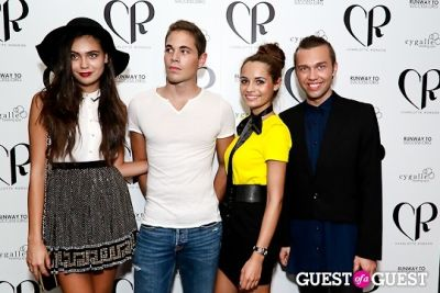 maria velkova in Charlotte Ronson Spring 2013 After Party