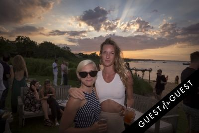 kumi sawyers in GUEST OF A GUEST x DOLCE & GABBANA Light Blue Mediterranean Escape In Montauk