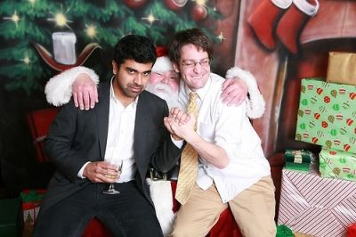 kunal shah in Ricky and Josh's Christmas Party
