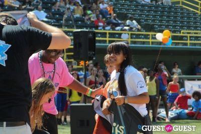 kyla pratt in 3rd Annual All-Star Kickball Game Benefiting Rising Stars of America