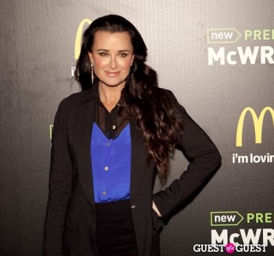 kyle richards in McDonald's Premium McWrap Launch With John Martin and Tyga Performance
