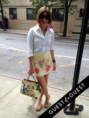 kylie bell in Summer 2014 NYC Street Style