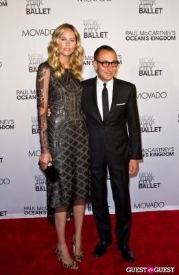 kylie case in NYC Ballet Opening