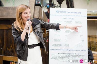 kylie gattinella-and-alex-van-hoek in Nazareth Housing Junior Board Spring Fundraising Brunch 2013