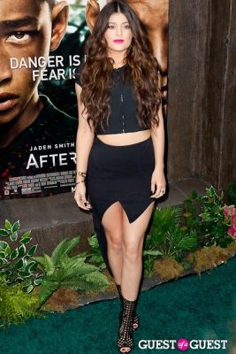 kylie jenner in After Earth Premiere