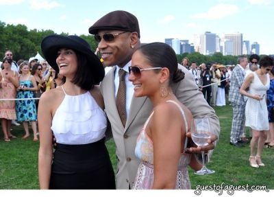 ll cool-j in Veuve Clicquot Polo Classic