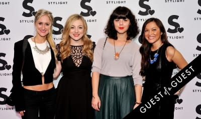 l r:-brittany-hallberg in Stylight U.S. launch event