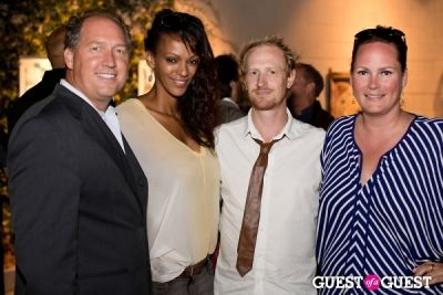 darren darnborough in Preview Party for Billy Zane's Solo Art Exhibition: