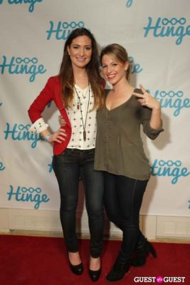 tiffany schlichting in Arrivals -- Hinge: The Launch Party