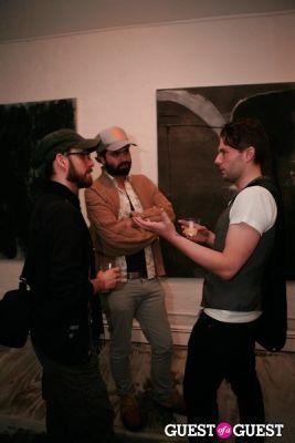 ricardo villavicencio in Brian Sensebe + Federico Saenz-Recio opening reception