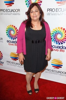 lady chavez in ProEcuador Los Angeles Hosts Business Matchmaking USA-Ecuador 2013