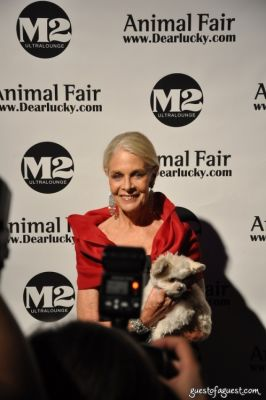lady francis-hayward in Animal Fair Magazine's 10th Annual Paws For Style