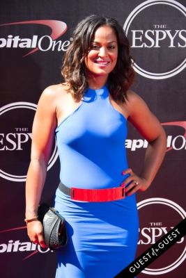 laila ali in The 2014 ESPYS at the Nokia Theatre L.A. LIVE - Red Carpet