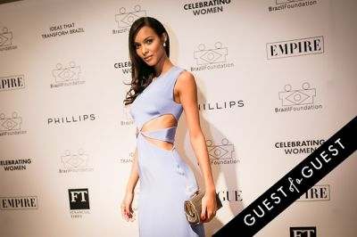 lais ribeiro in Brazil Foundation XII Gala Benefit Dinner NY 2014
