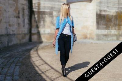 lala rudge in Paris Fashion Week Pt 3