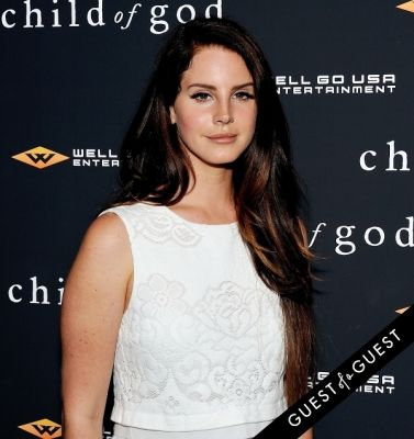 lana del-rey in Child of God Premiere