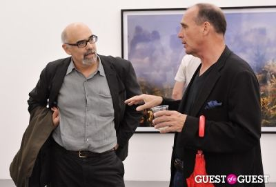 lance kinz in Kim Keever opening at Charles Bank Gallery
