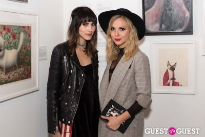 z berg in Cat Art Show Los Angeles Opening Night Party at 101/Exhibit