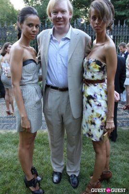 danielle schriffen in The Frick Collection's Summer Garden Party