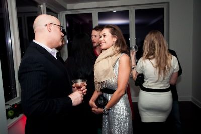 larry chaityn in The Supper Club NY & Zink Magazine Host a Winter Wonderland Open House Party