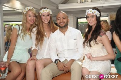 shilah glebke in Beaumarchais Midsummer White Party Brunch