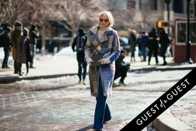 laura brown in NYFW Street Style Day 7