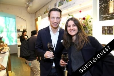bertrand thomas in Caudalie Premier Cru Evening with EyeSwoon