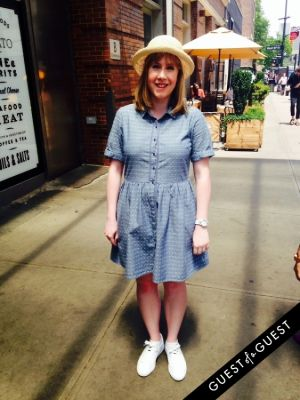 laura holmes in Summer 2014 NYC Street Style