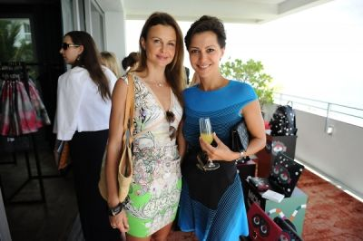 dovile drizyte in ShopBAZAAR VIP Brunch at Soho Beach House