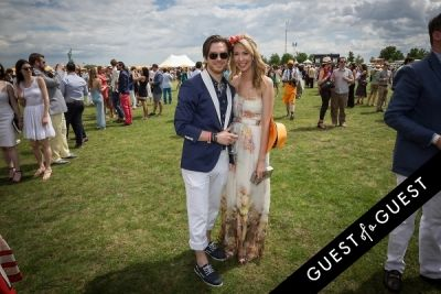 laura rose in Veuve Clicquot Polo Classic 2014