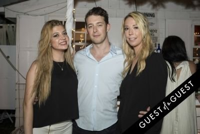 oliver hawthorn in The Untitled Magazine Hamptons Summer Party Hosted By Indira Cesarine & Phillip Bloch