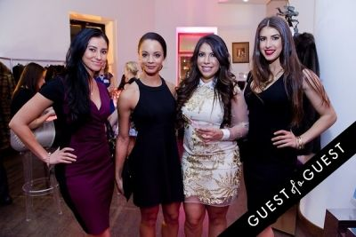 laura sorto in The 2nd Annual NBA, NFL and MLB Wives Holiday Soiree
