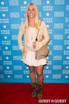 "laura wilde in Ringo Starr Honored with ""Lifetime of Peace & Love Award"" by The David Lynch Foundation"