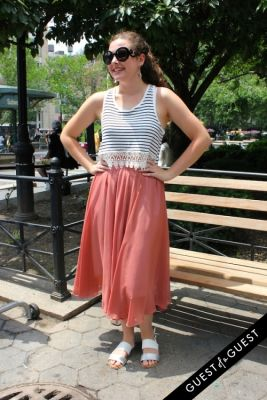 laura wynne in Union Square Street Style Summer 2015