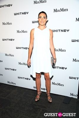 laura de-gunzburg in 2013 Whitney Art Party