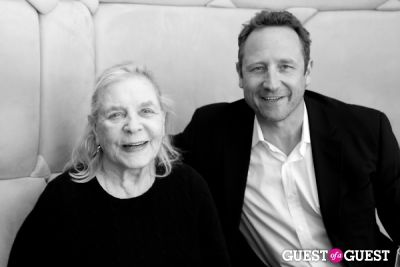 lauren bacall-and-sam-robards in 5th Annual Greenhouse Project Benefit