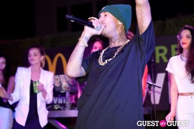 lauren dimarco in McDonald's Premium McWrap Launch With John Martin and Tyga Performance