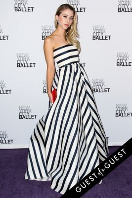 lauren keefe in NYC Ballet Fall Gala 2014